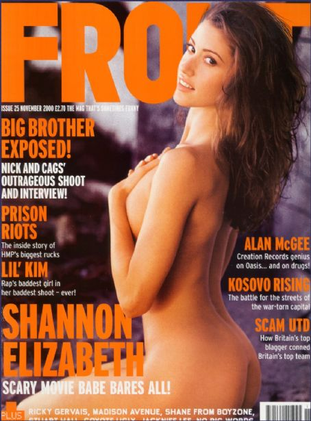 Related Links Shannon Elizabeth Front Magazine United Kingdom November