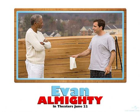 God Evan Almighty Wallpaper