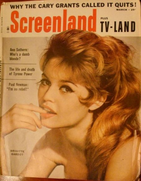 Brigitte Bardot - Screenland Magazine [United States] (March 1959)