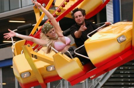 Anna Nicole Smith and Howard K. Stern - fun time