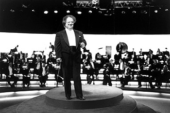 James Levine Acclaimed conductor , whose 28-year association with the Metropolitan Opera has earned him a special place in the music world, was an active collaborator in making Walt Disney Pictures' animated extravaganza 'Fantasia 2000' a reali