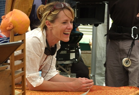 Mary Stuart Masterson Director  on the set of The Cake Eaters.