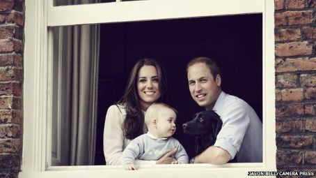 Prince George of Cambridge Prince Windsor and Kate Middleton