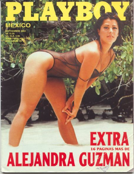 Alejandra Guzman - Playboy Magazine [Mexico] (January 1993)