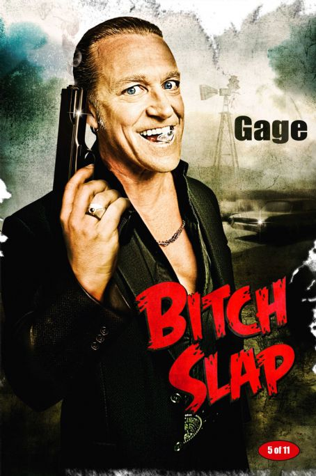 Michael Hurst Bitch Slap Poster