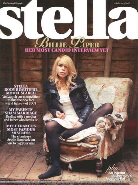 Billie Piper - Stella Magazine Cover [United Kingdom] (4 February 2007)