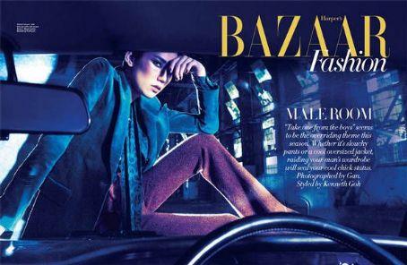Tao Okamoto  - Harper's Bazaar Magazine Pictorial [Singapore] (July 2011)