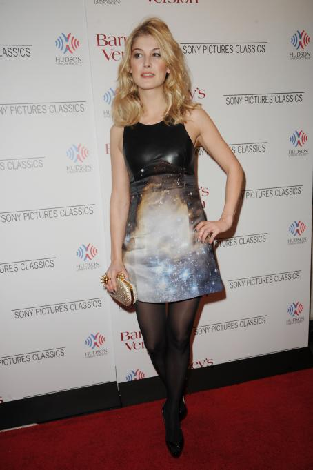 Barney's Version Rosamund Pike - 'Barney's Version' Premiere at Paris Theatre, New York - 10.01.2011