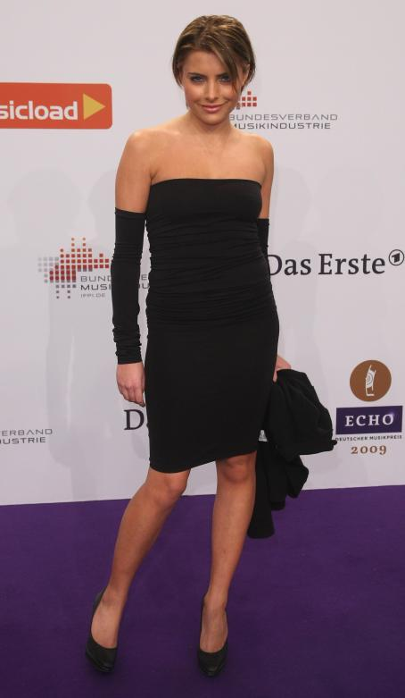 Sophia Thomalla  - 2009 Echo Music Awards - 21.02.2009