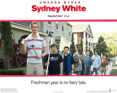 Samm Levine Sydney White Wallpaper