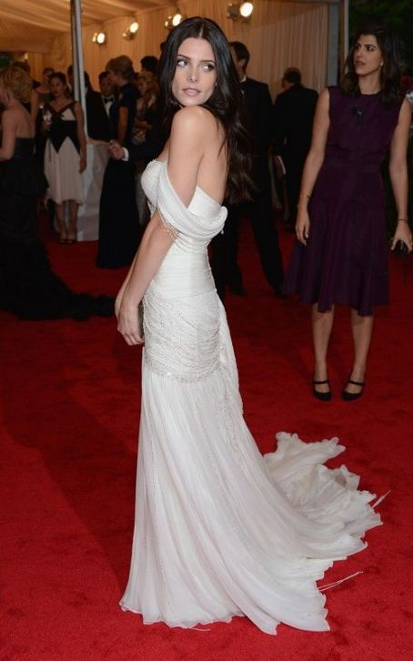 Ashley Greene: White Hot at the 2012 Met Ball