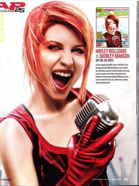 Paramore - Hayley Williams