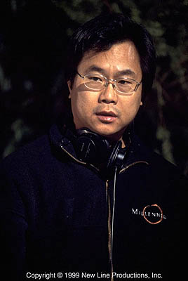 Final Destination Director and Co-Writer James Wong on the set of New Line's  - 2000