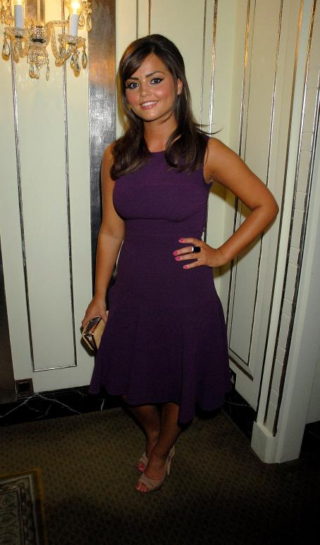 Jenna Coleman Jenna-Louise Coleman - TV Quick & Choice Awards At The Dorchester On September 8, 2008 In London, England
