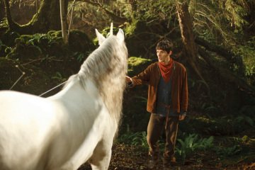 Colin Morgan Merlin (2008)