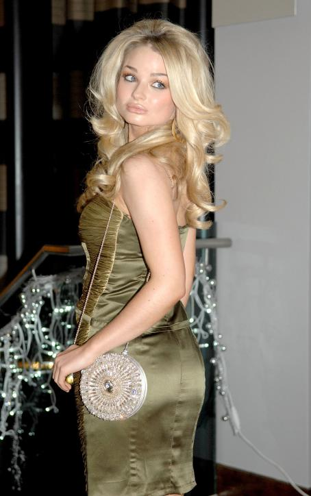 Emma Rigby - The Liverpool Style Awards - 05.12.2009