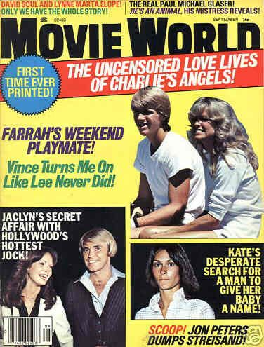 Farrah Fawcett - Movie World Magazine [United States] (September 1977)